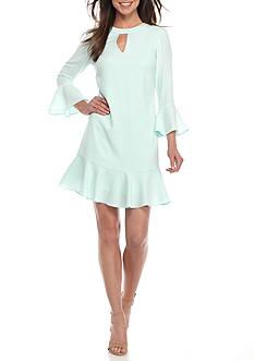 Shoshanna Stretch Crepe Sotelo Dress
