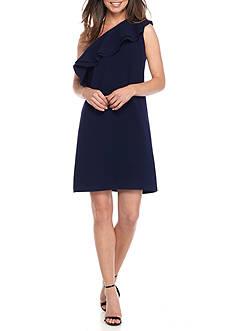 Shoshanna Crepe Bond Dress