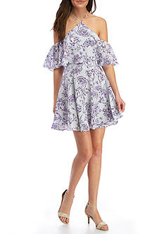 Amanda Uprichard Baja Printed Dress