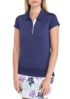 Pebble Beach Solid Front Tee