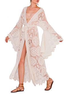 Jen's Pirate Booty Mandala Mantra Kimono