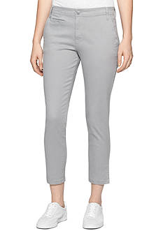 Calvin Klein Jeans Straight Crop Pant
