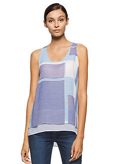 Calvin Klein Jeans Double Layer Printed Tank