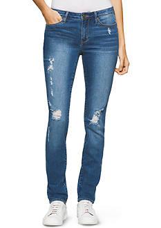 Calvin Klein Jeans Ultimate Skinny Rip And Repair Jeans