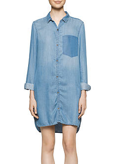 Calvin Klein Jeans Indigo Pocket Dress