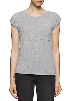 Calvin Klein Jeans Faux Suede Shirt