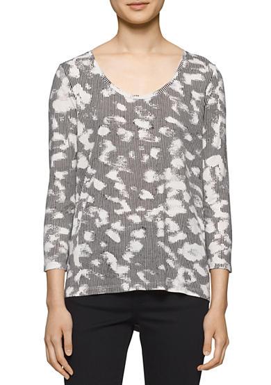 calvin klein jeans pullover blouse belk. Black Bedroom Furniture Sets. Home Design Ideas