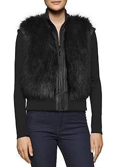 Calvin Klein Jeans Faux Fur Vest