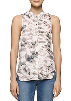 Calvin Klein Jeans Sleeveless Printed Top