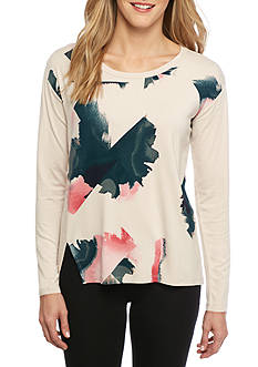 Calvin Klein Jeans Printed Knit Top