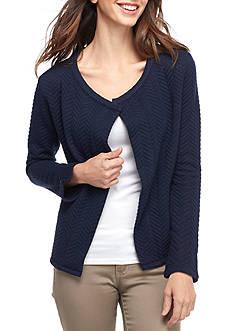 Calvin Klein Jeans Open Front Knit Jacket