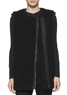 Calvin Klein Jeans Oversized Shearling Vest