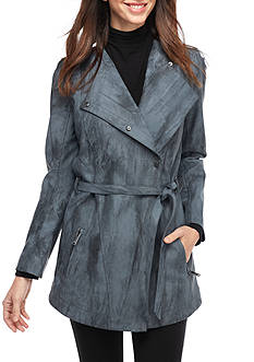 Calvin Klein Jeans Marble Wash Trench Jacket