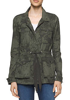 Calvin Klein Jeans Printed Utility Field Jacket