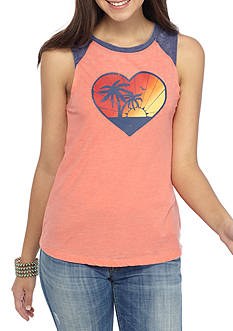 Almost Famous Burnout Jersey Tanks