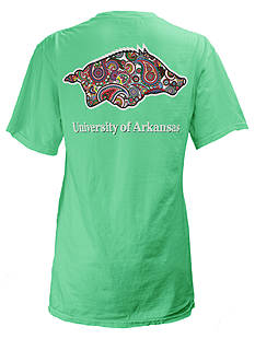 ROYCE University of Arkansas Buffy Screen Print Tee