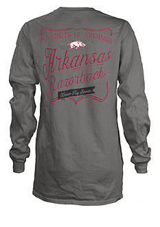 ROYCE University of Arkansas Plato Tee
