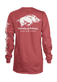 ROYCE University of Arkansas Cynthia Pocket Tee