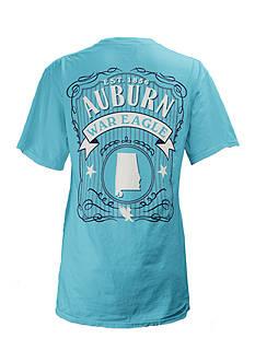 Pretty Rebellious Auburn State Banner Tee