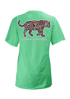 ROYCE Clemson University Buffy Screen Print Tee