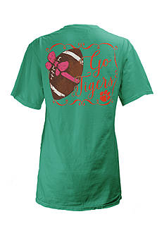 ROYCE Clemson University Bow Tee