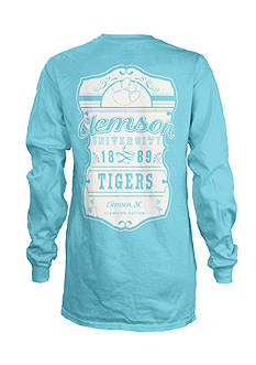 ROYCE Clemson University South Crest Tee