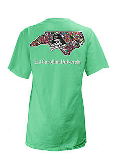 ROYCE East Carolina University Buffy Screen Print Tee