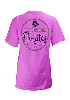 Short Sleeve East Carolina University Medallion Tee