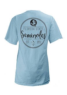 Short Sleeve Florida State University Medallion Tee