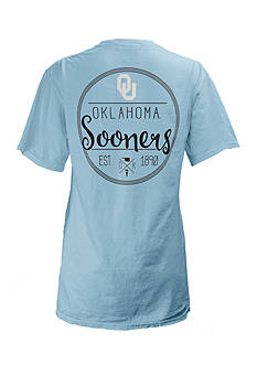 ROYCE Short Sleeve University Of Oklahoma Medallion Tee