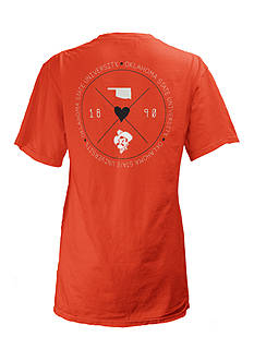 ROYCE Oklahoma State University Boho Arrow Short Sleeve Tee
