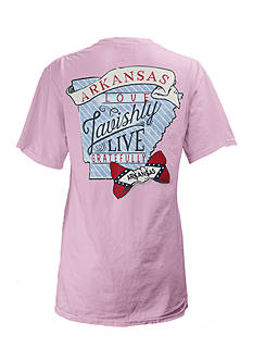ROYCE Preppy Comes Naturally Arkansas Tee