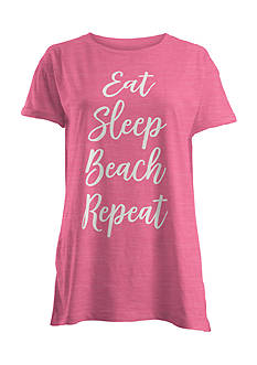 ROYCE Eat Sleep Beach Repeat Tee
