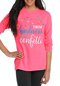 ROYCE Throw Kindness Long Sleeve Top