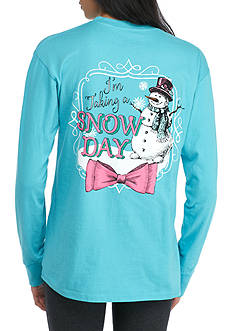 ROYCE Taking a Snow Day Long Sleeve Top