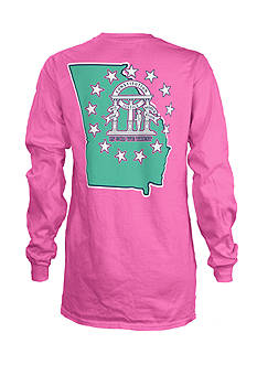 ROYCE Georgia Percy Long Sleeve Tee