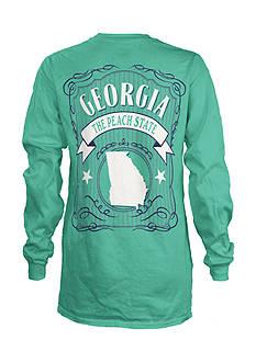 ROYCE Georgia State Banner Tee