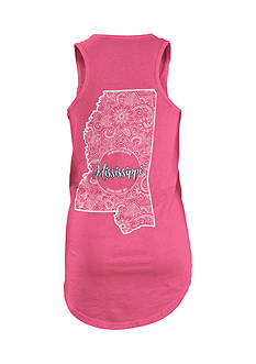 ROYCE Mississippi Curls and Lace State Tank Top