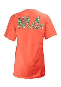 Pressbox Mississippi Floral Initials State Tee