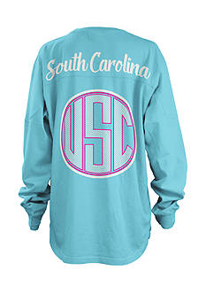 ROYCE South Carolina State Seersucker Monogram Tee