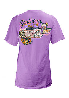 Pressbox Tennessee Sweet Tea State Tee