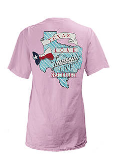 ROYCE Preppy Comes Naturally Texas Tee