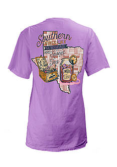 Pressbox Texas Sweet Tea State Tee