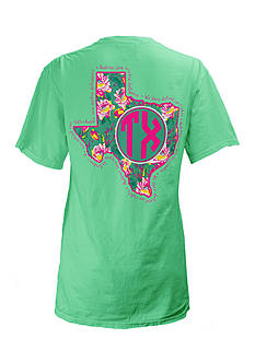ROYCE Texas Floral State Preppy Tee