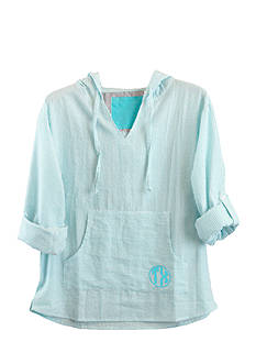 Pressbox Texas Monogram Baja Pullover
