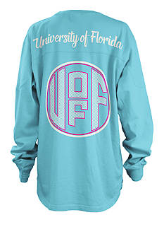 ROYCE University of Florida Seersucker Monogram Tee