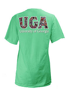 ROYCE University of Georgia Buffy Screen Print Tee