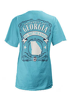 ROYCE University of Georgia State Banner Tee