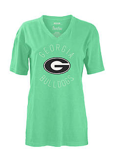 ROYCE University of Georgia Valley Logo Short Sleeve Tee