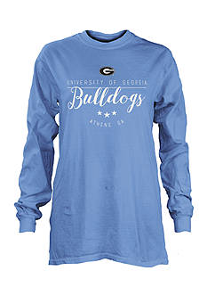 ROYCE University of Georgia Finley Long Sleeve Tee